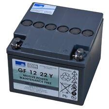 Exide Ensoleillement GEL Traction Dryfit Bloque GF 12 22Y exempt d'entretien GEL