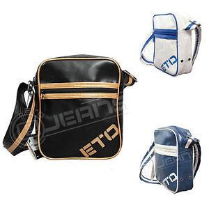 Details About New Eto Mens Womens Messenger Shoulder Office Bag Kids Boys Mini Side