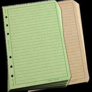 Rite-In-The-Rain-Loose-Leaf-TAM-Inserts-OD-100-Sheet-Pack