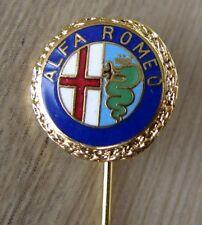 ALFA ROMEO Nadel kein Pin / Pins: Alfa Romeo Logo (gold) - emailliert