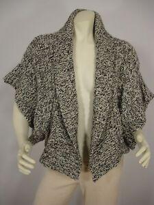 Åben Alpaca Wool Blend Moth Foran Sweater L Kimono Women's Cardigan Sleeve SgOtw