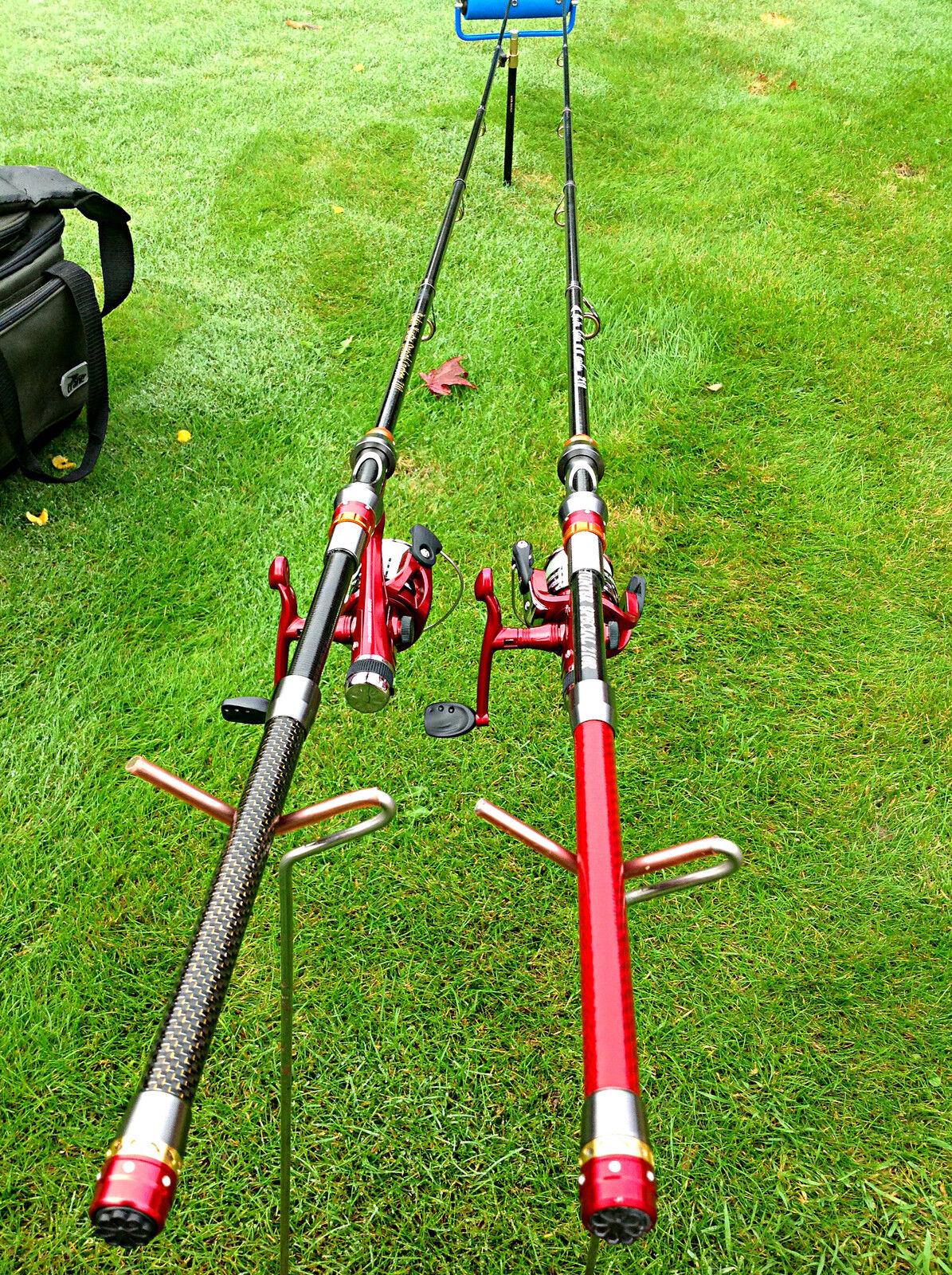 Voyage Carbone 2.1 M M 2.1 Fishing Rod & Reel Set/cannoeing/kayak/FREE POST 160b8c