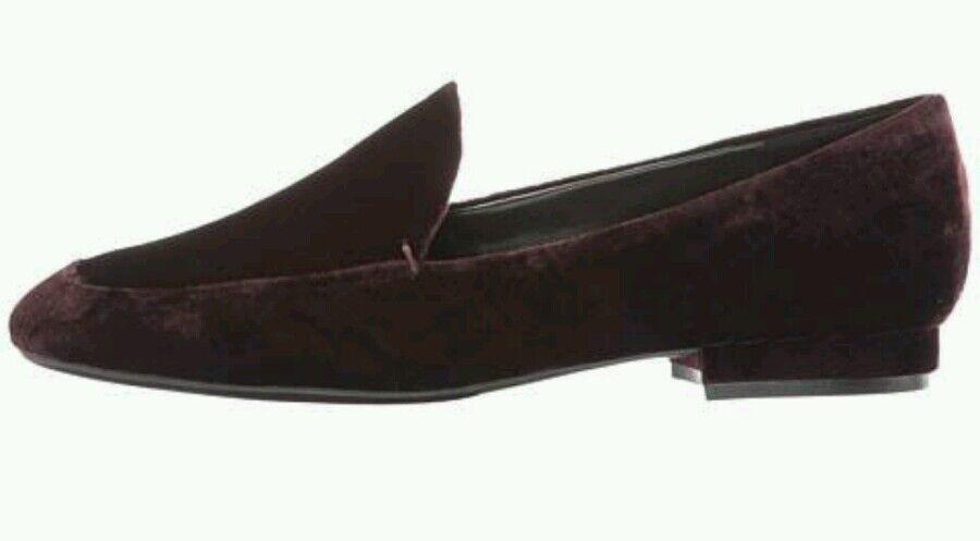 Nine West Xalan Wine Flats Größe 8 Comfortable Work Schuhe