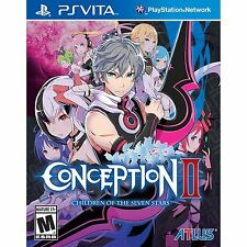[NEW&SEALED] Conception II Children Of The Seven Stars for Playstation Vita New!