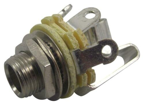 """Neutrik Rean by Neutrik NYS230 1//4/"""" Stereo jack with washer and nut"""
