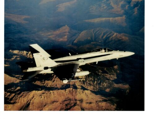 Boeing F18 Hornet VFA83 Navy Fighter Aircraft Photograph 8x10 Color