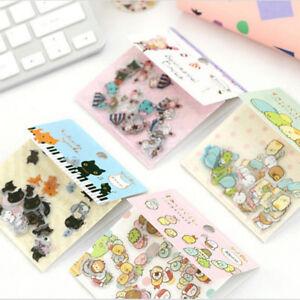Details about 80s Japanese Sumikko Gurashi Stickers Flakes Bag Sack Animal  DIY Scrapbooking9UK