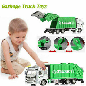 Kids-Toys-1-32-Scale-Diecast-Material-Transporter-Garbage-Truck-Car-Model-Gift
