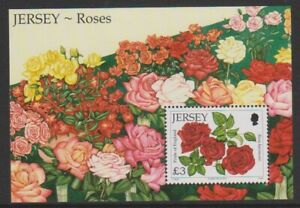 Jersey-2010-Roses-Feuille-MNH-Sg-MS1524