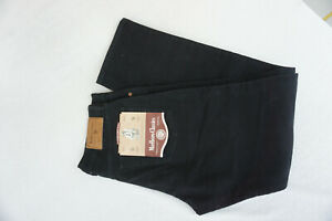 MARLBORO-Rockies-103-Herren-Jeans-regular-cord-robust-Hose-W34-L32-schwarz-P2