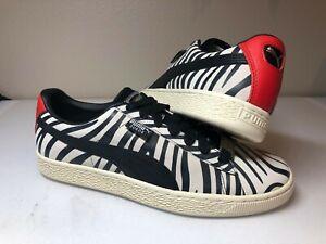 newest c6d6c 287af Details about Men's Puma x Paul Stanley Suede 50 Zebra Sneakers KISS Size  10.5 Rare 366288 01
