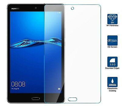"TabletHutBox Tempered Glass Screen Protector for Huawei Mediapad M3 8.4/"" inch"
