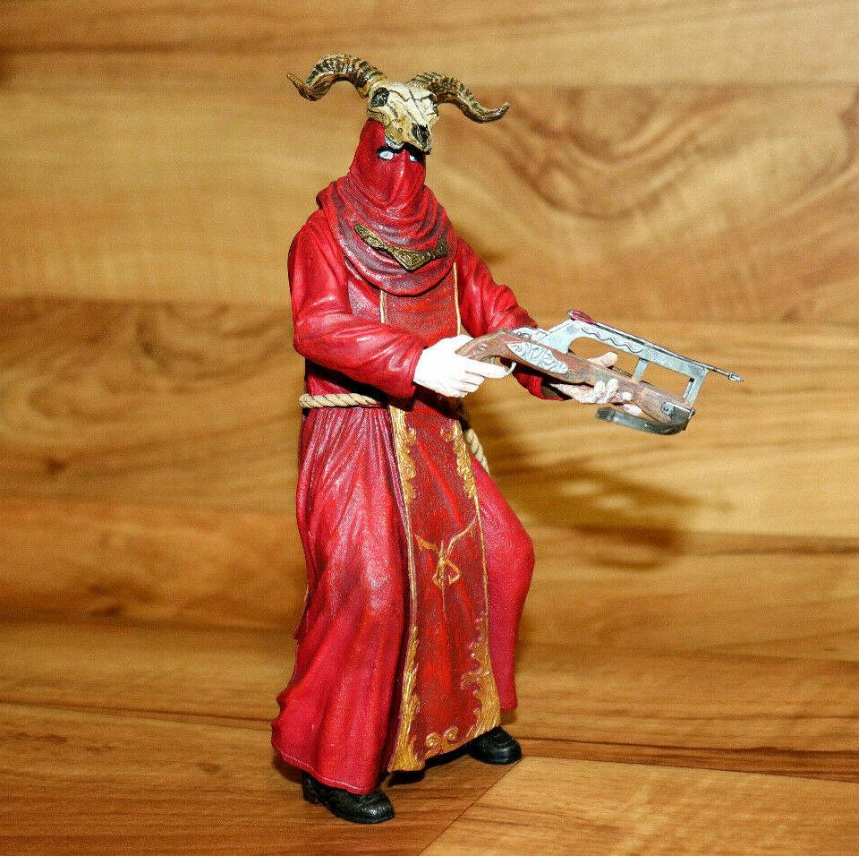 Resident evil Biohazard 4 ILLUMINADOS MONKS rosso Monk azione cifra  Neca  Spedizione gratuita al 100%