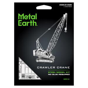 Fascinations-Metal-Earth-Contruction-Crawler-Crane-3D-Laser-Cut-Steel-Model-Kit