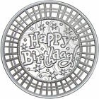 2017 Happy Birthday Stripes 1oz .999 Fine Silver Round by SilverTowne
