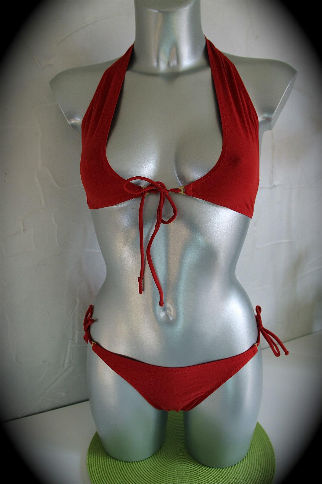 Swimsuit red PAIN de SUCRE hanai 61 SIZE 40 - 85B NEW LABEL
