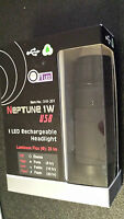 Vetta Neptune Usb Led Bicycle Cycling Headlight-3 Modes With 1 Super Bright Led