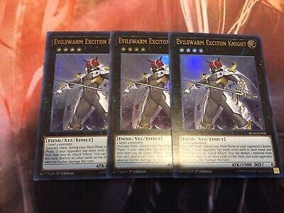 Evilswarm Exciton Knight BLLR-EN068 Free Shipping MINT