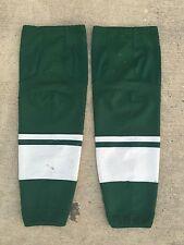TEAM SET CCM Edge Pro Stock Hockey Socks Minnesota Wild Green 9198