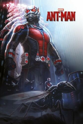 24x36 Ant Man Poster shrink wrapped
