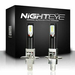 2X-H1-160W-LED-Auto-Fernlicht-Nebelscheinwerfer-DRL-Fog-Lampe-Birnen-6500K-Weiss