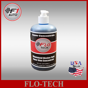 Flo Tech 16oz Super Concentrate Blue Car Windshield