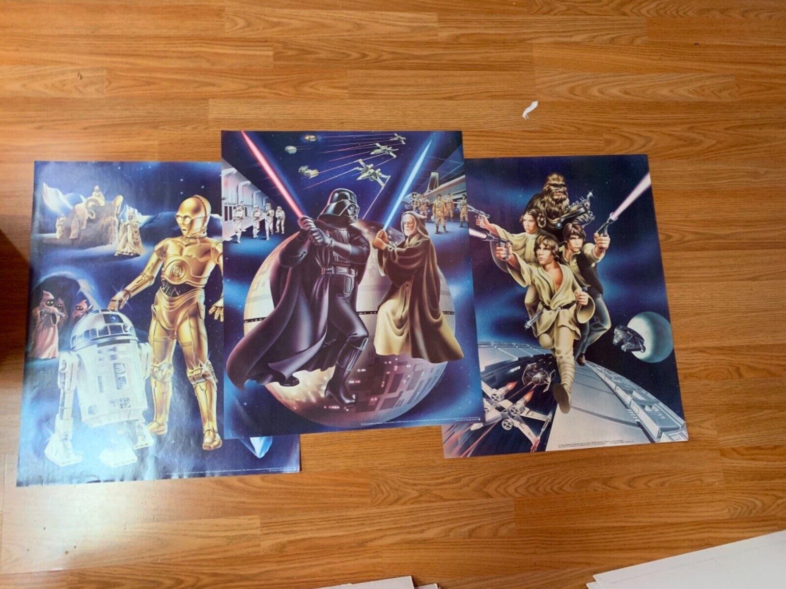 Star Wars Original Proctor & Gamble Poster 1978 Set of 3