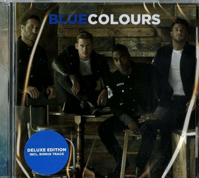 BLUE - COLOURS   - CD NUOVO SIGILLATO