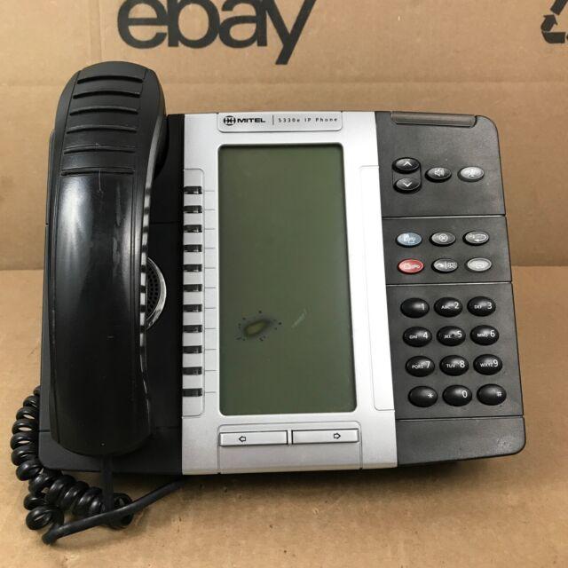 Mitel 5330e Backlit LCD Business Office IP Phones 50006476 7.B2