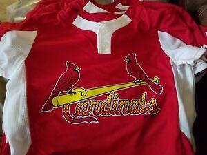 e14bd3153a4 New Majestic Cool Base Cardinals Sm Youth Baseball Little League 2 ...