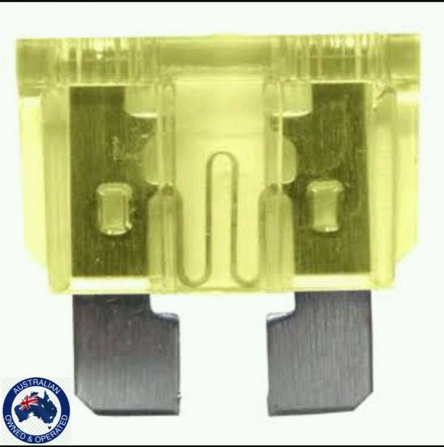 20 amp standard  Auto Blade Fuses X 10 pieces