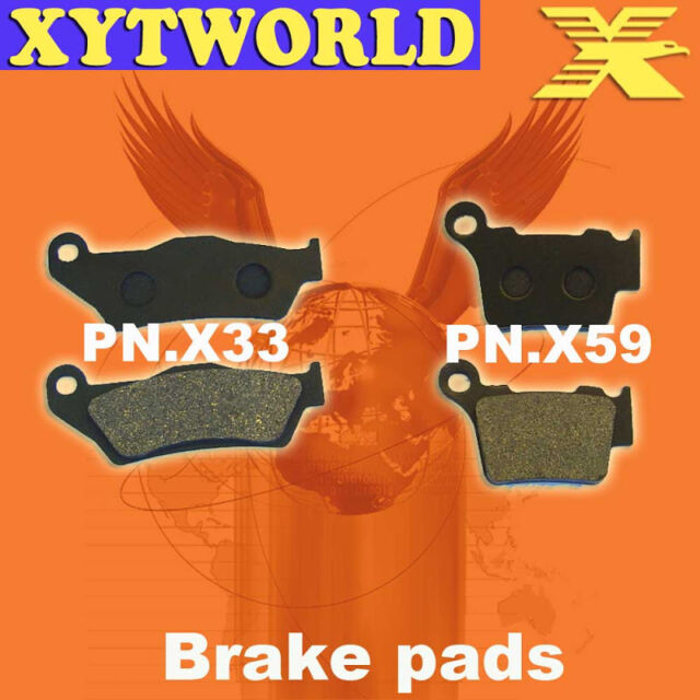 Front Rear Brake Pads for KTM EXC350 EXC 350 350EXC EXC-F SIX DAYS 2010-2013
