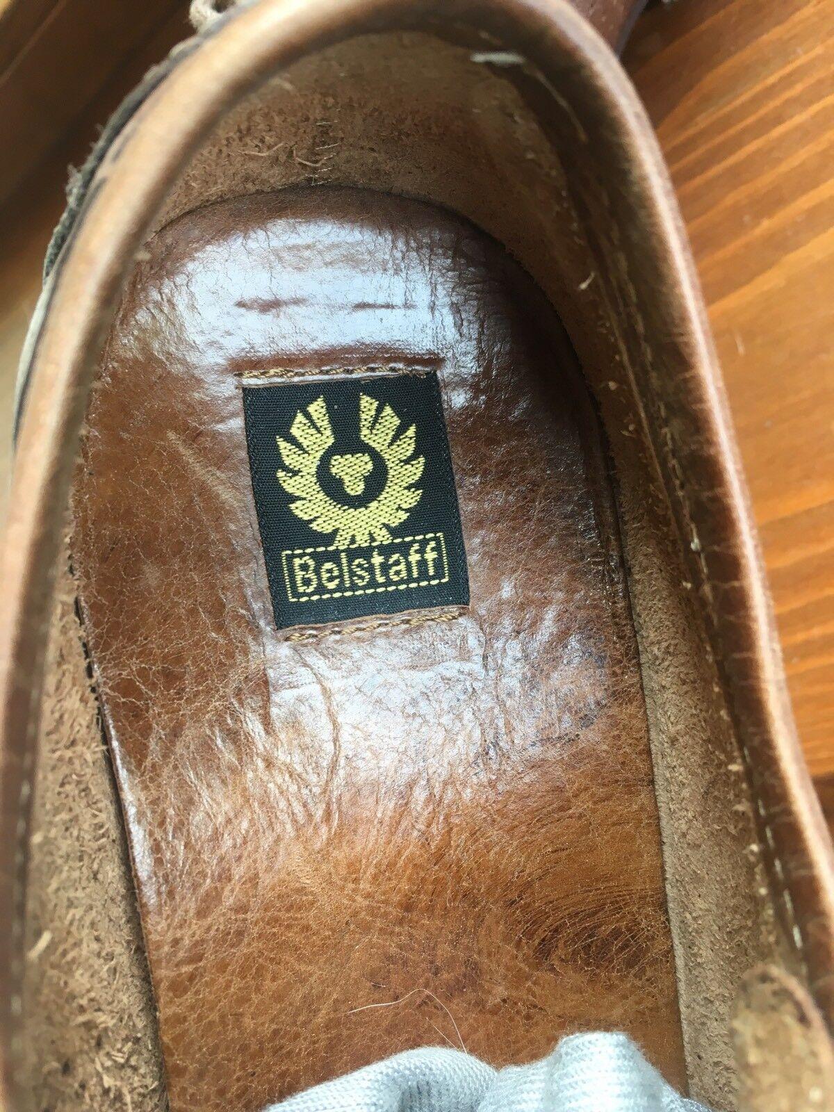 BELSTAFF Leather Driving scarpe Ventilated Lace Up Scarpe Basse Stringate Stringate Stringate Pelle   Shop  18aa9b