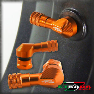 Strada-7-83-Degre-11-3mm-CNC-Moto-Tige-de-Valve-Suzuki-Inazuma-250-Orange