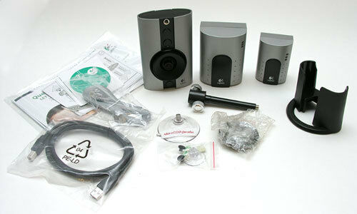 Logitech WiLife Video Security Indoor Color Camera Master System Kit cable-free