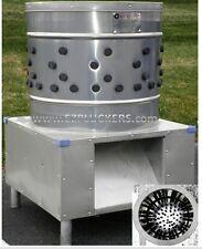 Ez 151 Ezplucker Stainless Steel Chicken Plucker De Feather Machine
