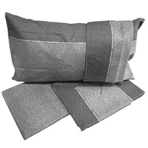 Completo letto cotone lenzuola matrimoniali +FANTASIE sotto sopra 2 federe IRGE