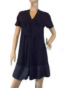 COUNTRY-ROAD-SIZE-S-BLACK-JERSEY-DRESS