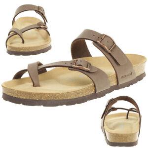 online store cddb7 16f5c Details zu Rohde Alba Damen Zehentrenner Schuhe 5594 72 braun