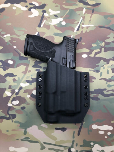 """Details about  /Black Kydex Holster for M/&P 2.0 Full Size 4.25"""" Olight PL-Pro"""