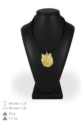 100% Wahr Cairn Terrier - Vergoldet Halskette Mit Dem Bild Eines Hundes Art Dog De StraßEnpreis