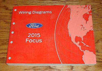 Original 2015 Ford Focus Wiring Diagrams Manual 15 | eBay