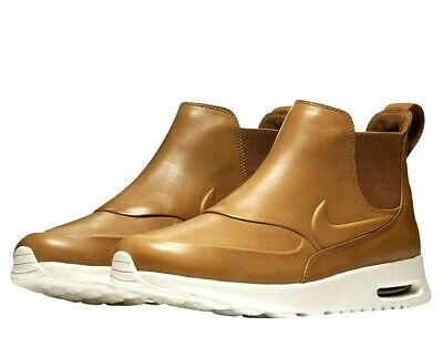 NIKE AIR MAX THEA MID BOOTSSHOES WOMENS 9.5 NEW 859550 200 ALE BROWN 823229915494 | eBay