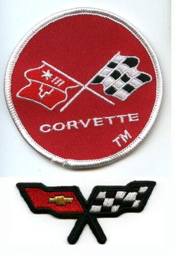 CHEVY RACING TEAM VINTAGE 1975 CORVETTE® /'75 CORVETTE® NOSE EMBLEM 2-PATCH SET