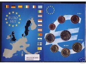 EURO  BELGIQUE 2003  SERIE  COMPLETE   NEUVE  RARE!!!
