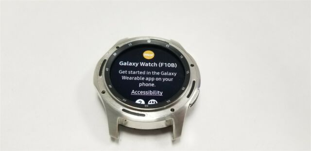 Samsung Galaxy Watch 46mm Silver SM-R805U (LTE) Great Discounted NW3051