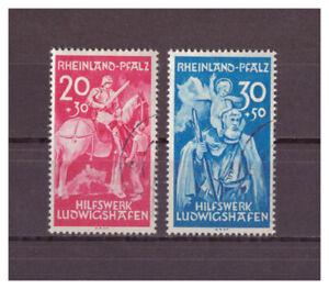 Rhenanie-palatinat-Scott-Ludwigshafen-Minr-30-31-1948-Used