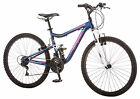 Mongoose 26 inches Women's Full Suspension Status 2.2 Bike Bicycle - Blue