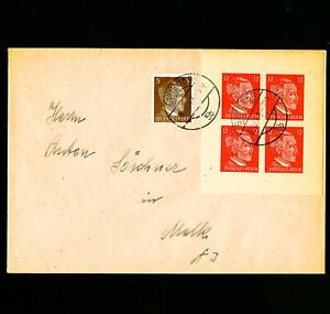 Germany-Rare-Teeth-Stamp-Block-Cover