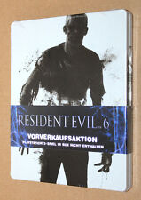 Resident evil 6 Steelbook ( G2 PS3 ) New & Sealed / NO GAME